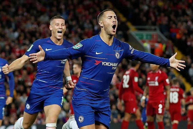 Hazard Sebut Chelsea Masih Berpeluang Juarai Premier League 2018/19