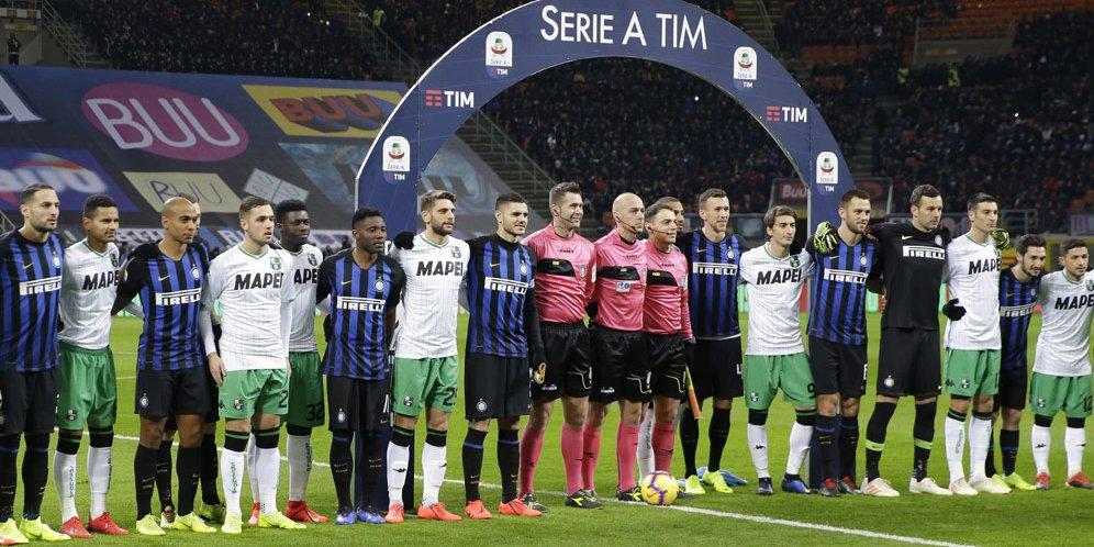 Hasil Pertandingan Inter Milan Vs Sassuolo Berakhir Imbang