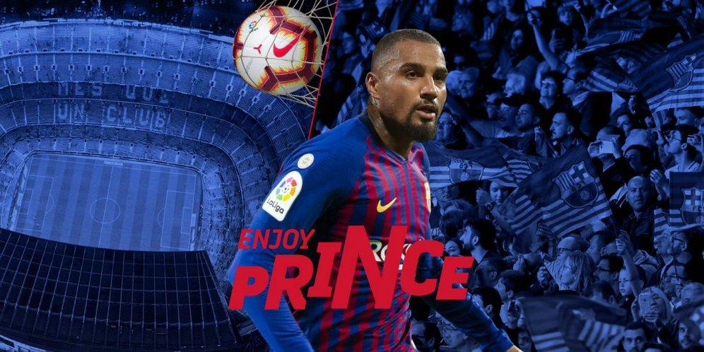 Kevin Prince Resmi Bergabung Dengan Barcelona