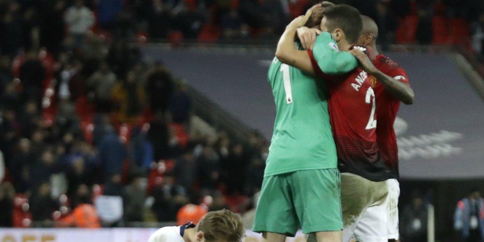 Hasil Pertandingan Tottenham Hospur Vs Manchester United