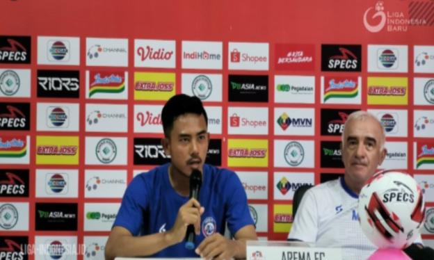 Taufik Hidayat Mau Arema FC Tidak Remehkan PSIS Semarang