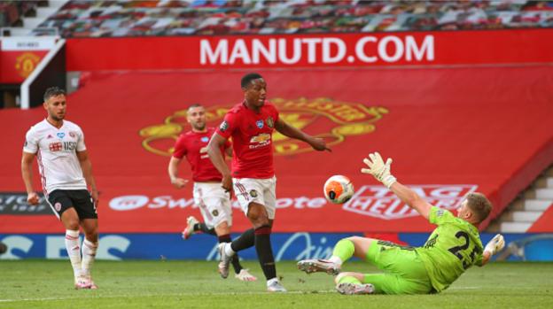 Man United vs Sheffield United, Martial Cetak Kemenangan Besar Bagi Setan Merah