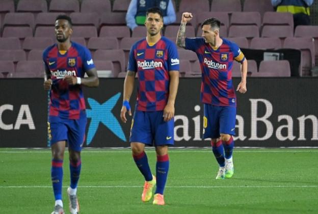 FC Barcelona vs Atletico Madrid, Messi Cetak Gol Ke-700 Tapi Barca Kehilangan Poin