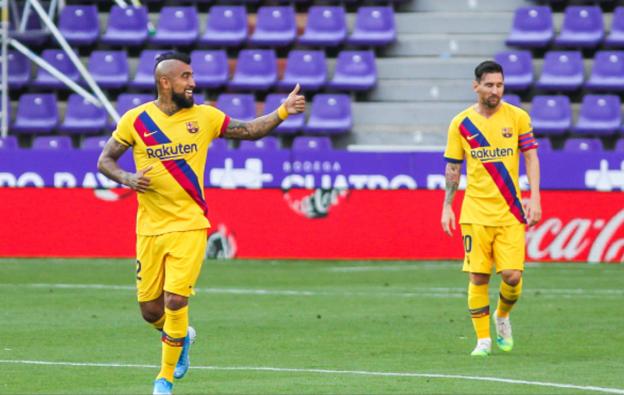 Real Valladolid 0-1 Barcelona, Juara Mempertahankan Perburuan Gelar