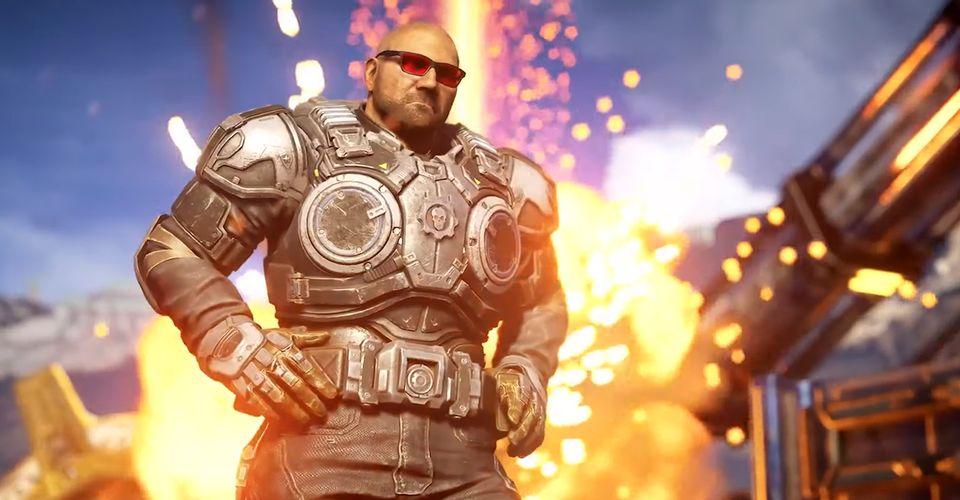 Update Dari Gears 5 Akan Memberikan Pemain Mengubah Marcus Fenix Menjadi Dave Bautista