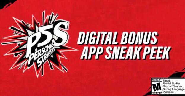 Konten Bonus Pre Order Persona 5 Strikers Diumumkan Oleh Atlus